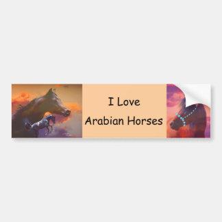 Love Arabians Bumper Sticker