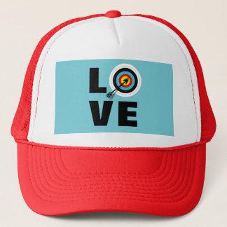 Love Archery Sport Target Board Cool Graphic Trucker Hat