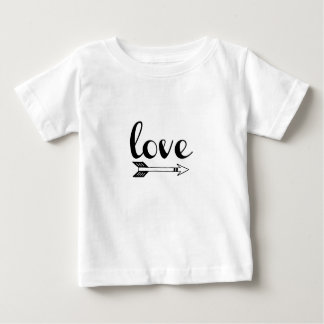 Love Arrow Design Baby T-Shirt