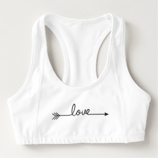 Love Arrow Sports Bra