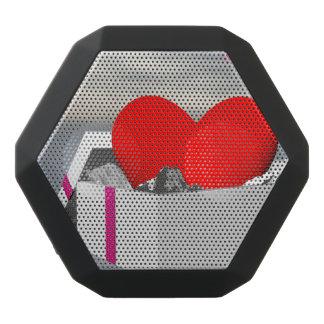 Love as a gift - 3D render Black Bluetooth Speaker