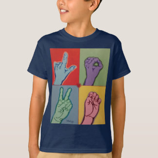 LOVE ASL for kid t-shirt
