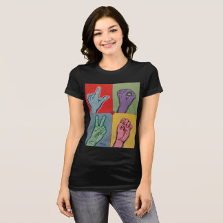 LOVE ASL for women t-shirt