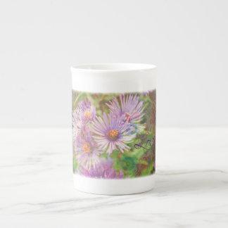 Love Asters Tea Cup
