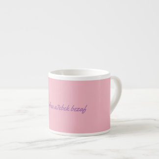 Love at a distance espresso cup