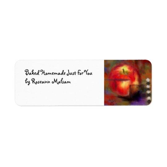 Love at First Bite Kitchen Label