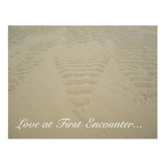 Love at First Encounter... Postcard