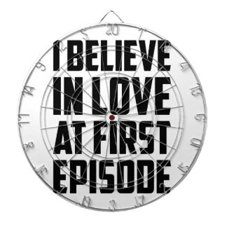 Love at First Episode Dartboard