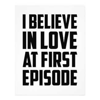 Love at First Episode Letterhead