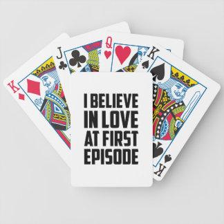 Love at First Episode Poker Deck