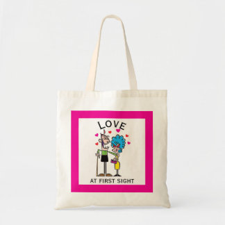 Love at First Old Old Sight Tote Bag