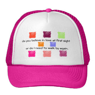 Love at First Sight  2 Trucker Hat
