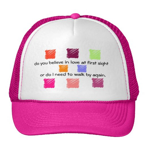 Love at First Sight  2 Mesh Hat