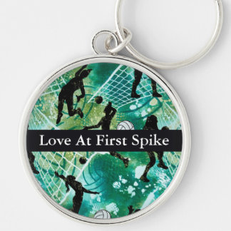 Love At First Spike Keychain