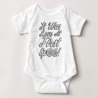 Love at First Spool Baby Bodysuit