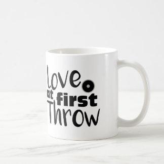 Love at First Throw, Discus Throw Coffee Mug Cup