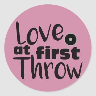 Love at First Throw, Discus Throw Stickers