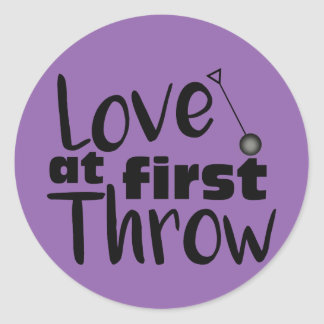 Love at First Throw, Hammer Throw Stickers