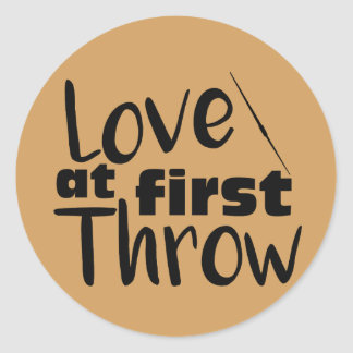 Love at First Throw, Javelin Throw Stickers