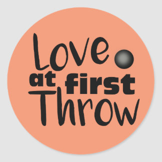 Love at First Throw, Shot Put Throw Stickers