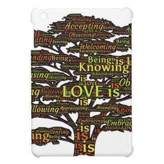 love attributes iPad mini cover