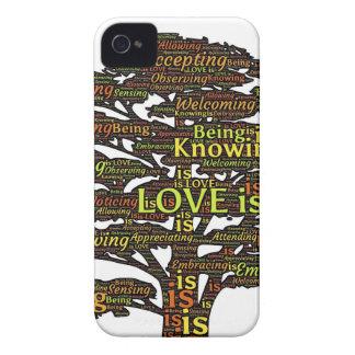 love attributes iPhone 4 Case-Mate case