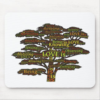 love attributes mouse pad
