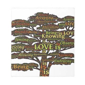 love attributes notepad