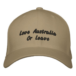 Love Australia Or Leave, Logo Baseball Cap