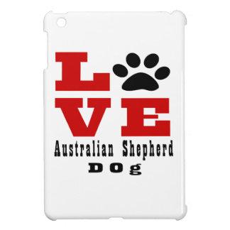 Love Australian Shepherd Dog Designes iPad Mini Covers