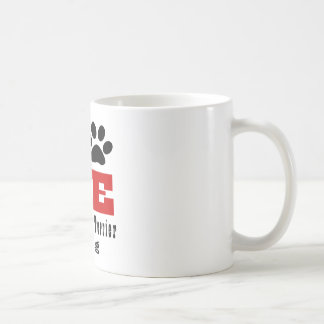 Love Australian Terrier Dog Designes Coffee Mug