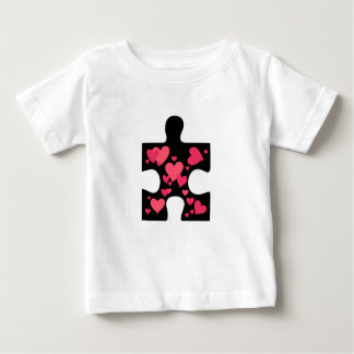 Love Autism Awareness Gift Baby T-Shirt