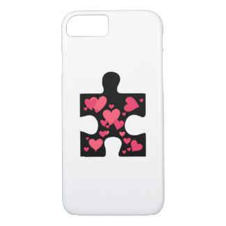 Love Autism Awareness Gift iPhone 8/7 Case