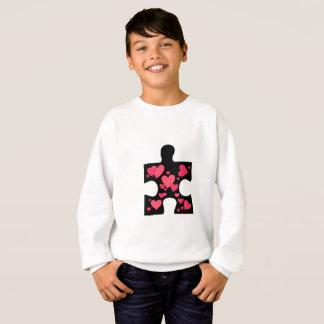 Love Autism Awareness Gift Sweatshirt