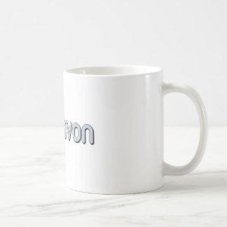 Love AVON Classic White Coffee Mug