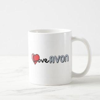 Love AVON Coffee Mug