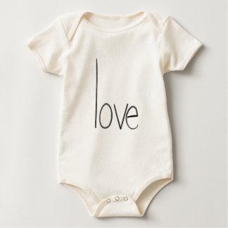 love baby one piece 6 months baby bodysuit