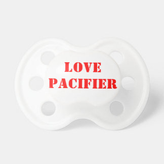 LOVE BABY PACIFIERS