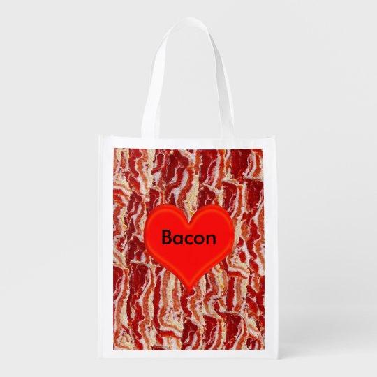 Love Bacon Market Totes