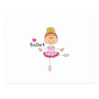 LOVE BALLET POSTCARD