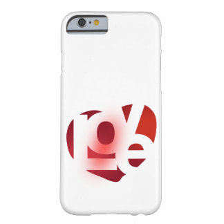 'Love' Barely There iPhone 6 Case
