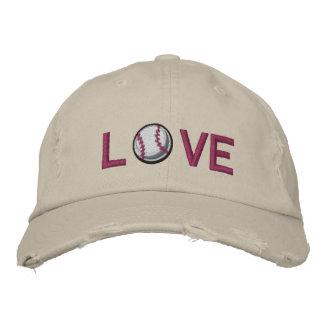 Love Baseball Baseball Cap