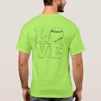 Love Baseball / Softball Men's T-Shirt