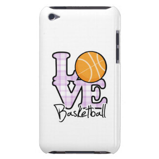 Love Basketball Barely There iPod Covers