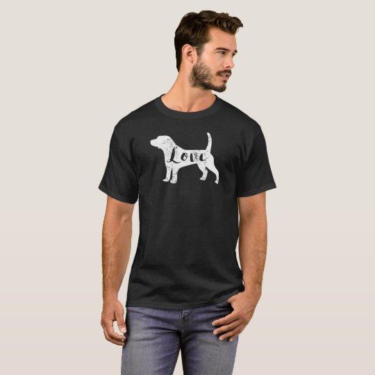 Love Beagles T-Shirt Vintage Look