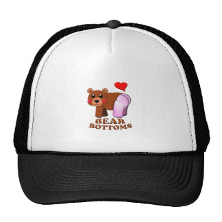 love  bear bottoms trucker hat