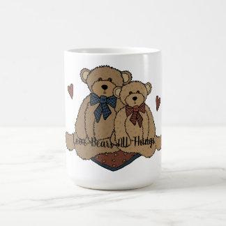 Love Bears All Things Classic White Mug