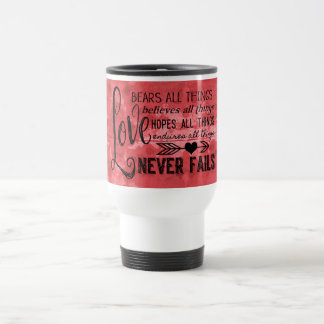Love Bears All Things Travel Mug (Red)