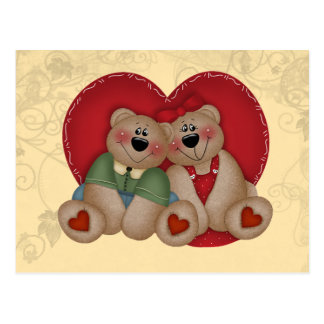 Love Bears Postcard