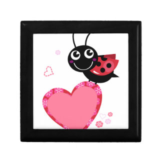 LOVE BEE with pink Heart Gift Box